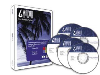 Windows Server 2003 (Exam 70-299) Training Course by Makau