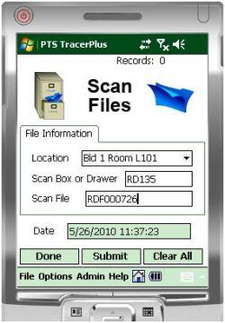File Folder Track Mobile Kit - Barcode Mobile Applications