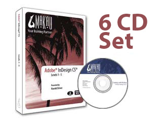 InDesign CS2 Bundle Training Course by Makau
