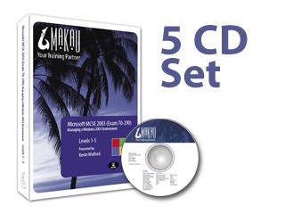 Windows Server 2003 (Exam 70-290) Training Course by Makau