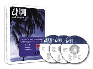 Windows Server 2003 (Exam 70-297) Training Course by Makau