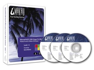 Windows Server 2003 (Exam 70-298) Training Course by Makau