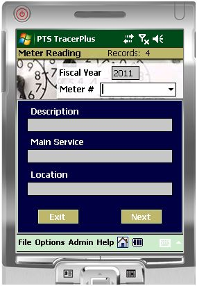 Electrical Meter Reading Mobile Kit - Barcode Mobile Applications
