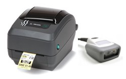 Scan and Print II Standalone Zebra Label Printing System