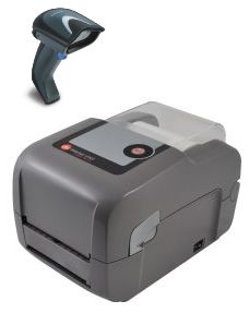 Scan and Print Barcode Standalone Printing